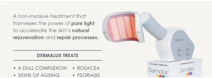 Dermalux Compact LED light technology | CliniqueMatrice
